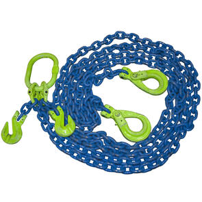 Grade 100 Chain Sling 16mm 2 leg Effective Length