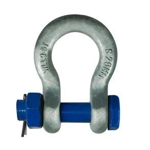 Shackle Grade 'S' Bow Safety Galvanised