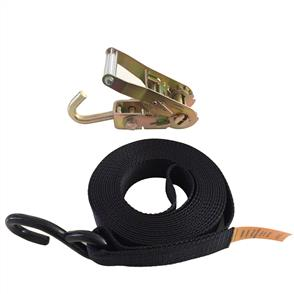 Boat tie down S Hook with swivel J hook Ratchet buckle