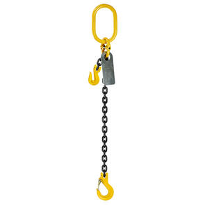 Grade 80 Chainsling 10mm 1leg Effective Length C/W Clevis Type Grab Shortner And Clevis Sling Hook Tested