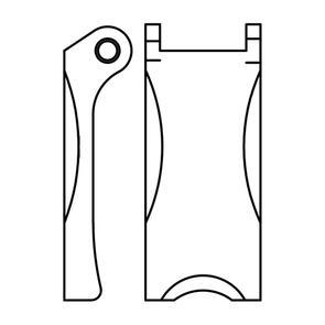L/Block Hook Safety Latch