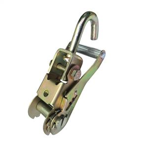 Ratchet Buckle With Swivel J Hook 35mm LC1500kg