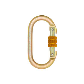 Karabiner 18mm Gate Steel opening. Rated at 25kn. Conforms to EN362