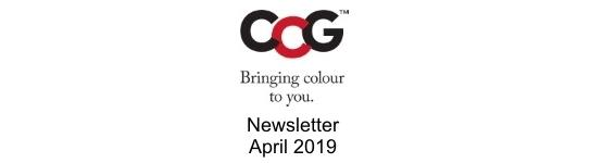Newsletter - April 19