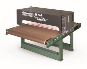 "Vastex Econored-II-54 Infrared Conveyor Dryers 2x 7,200w heaters. 54"" Belt x 7.4' Long (137 cm x 2.24 m)"
