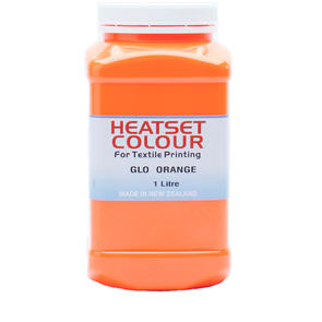 Heatset Glo Orange
