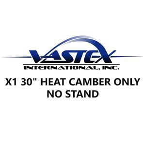 "Vastex LittleRed X1 Infrared Conveyor Dryers 30"" Heat Chamber Only w Exhaust, 240V 1x 2600w heater"