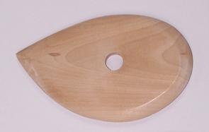 Rib Wooden Teardrop