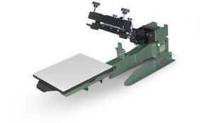 Vastex V-2000HD Industrial Screen Printer 1 Station 1 Color TT/FC (Non Rotary)