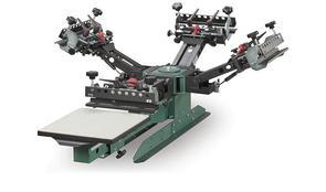 Vastex V-2000HD Industrial Screen Printer 1 Station 4 Color TT