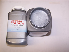 Heatset Metallic Silver