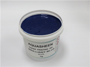 Aquasheen Ink Bright Blue