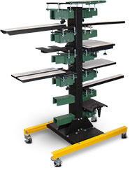 Vastex VP-Cruiser Pallet Rack (add pallet mounts separately)