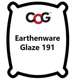 Earthenware Glaze 191 White Gloss