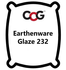 Earthenware Glaze  232 Transparent