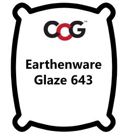 Earthenware Glaze 643 Bright Red
