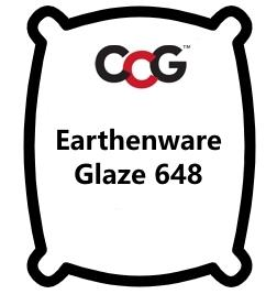 Earthenware Glaze 648 Bright Yellow