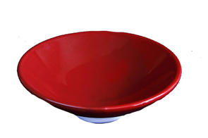 Abbots Wine Red Midfire Brushable Glaze