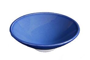 Abbots Variegated Blue Midfire Brushable Glaze
