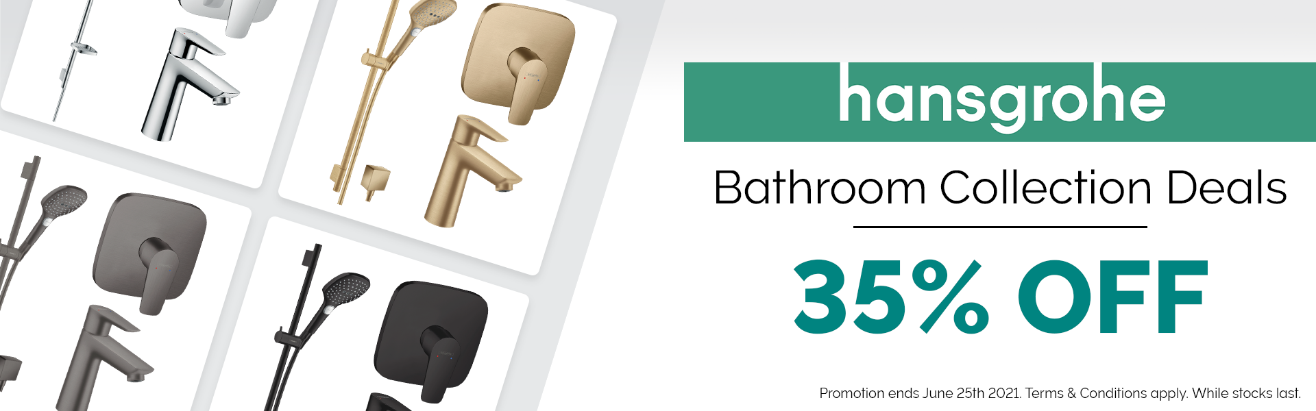 Hansgrohe Bathroom Collection Promotion