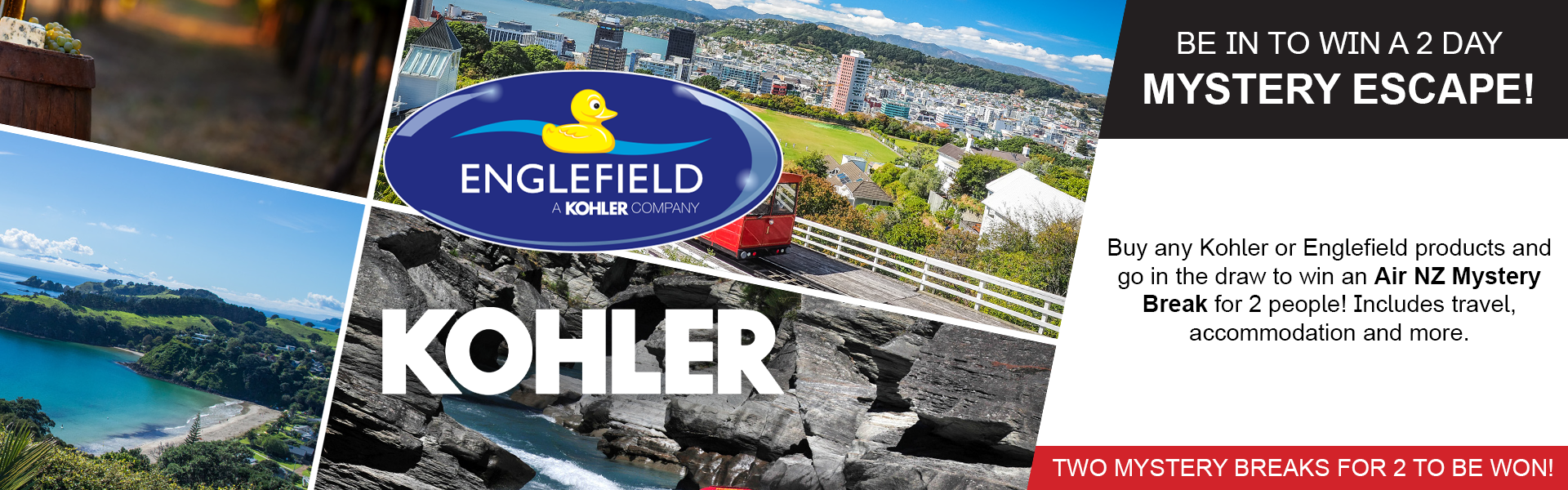 Englefield Kohler Mystery Break Promo