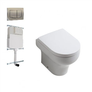 Plumbline Lavage Olympia FloorPan Toilet Suite