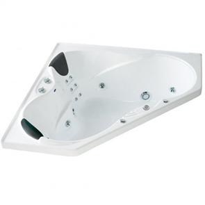 Englefield Evora Hydrotherapy Corner Spa Bath
