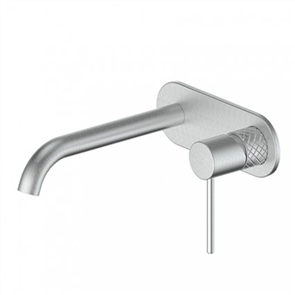 Greens Textura  Wall Basin Mixer W/Plate
