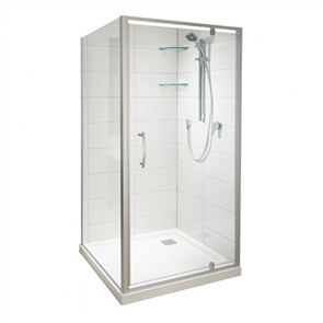 Athena Amara  2 Wall Tiled Shower