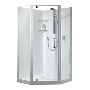 Athena Amara  2 Wall Angle Corner Shower