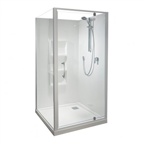 Athena Amara  2 Wall Moulded Shower
