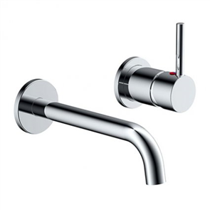 Elementi Uno Basin Mixer Wall Mounted
