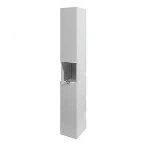 St Michel Essentia Sto 02 Tall Cabinet Woodgrain