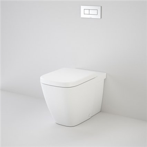 Caroma Cube Invisi II Toilet Suite Wall Faced