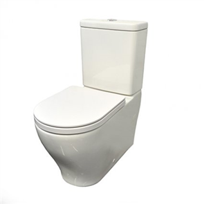 Caroma LunaPlus Toilet Suite Cleanflush Wall Faced