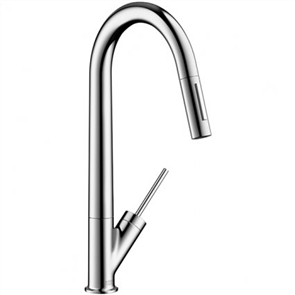 Axor Starck Sink Mixer with Pull Out Spray