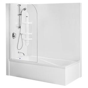 Englefield Duo II   Shower over Bath Combination 1670mm