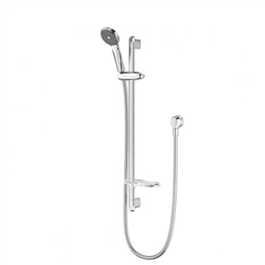 Methven Futura SatinJet Single Spray Slide Shower