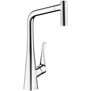 Hansgrohe Metris  Sink Mixer with PullOut Spray
