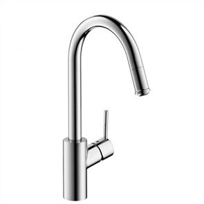 Hansgrohe S2 Variarc Sink Mixer with Pull Out Spout
