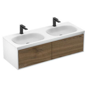 Plumbline Lavage Uno Double 2 Drawer Vanity