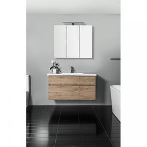 Michel Cesar Lorelle 2 Drawer Wall Vanity