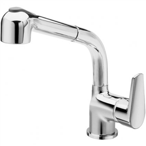 La Torre Metro Sink Mixer with Pullout Spray