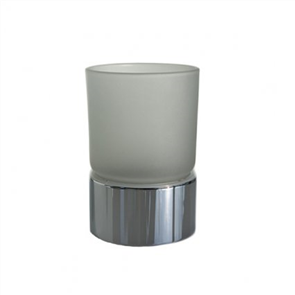 Formebathware 240 Series Tabletop glass tumbler and Holder