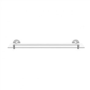 Formebathware 108 Series Glass shelf with Rail