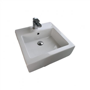 Gala City Square Wall/Counter Basin