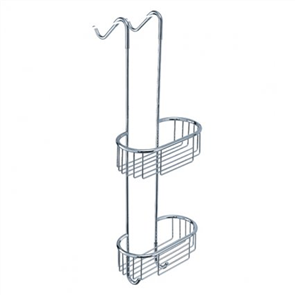 Yatin  Double Hanging Basket Curved
