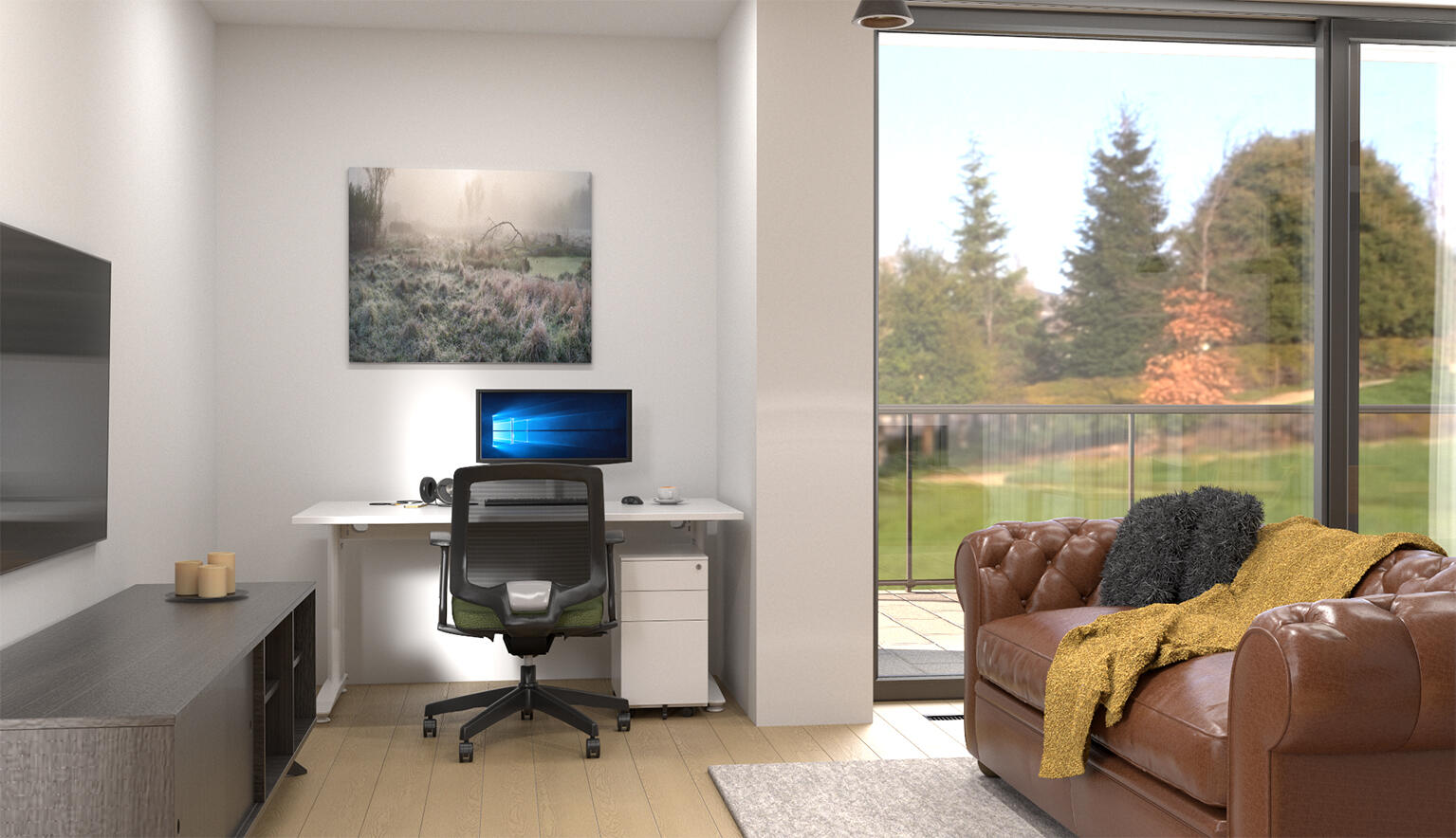 How to Create a Home Office in a Small Space