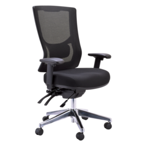Buro Metro ll High Back 24/7 Chrome Base Chair