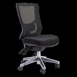 Buro Metro II High Back 24/7 Chrome Base Chair